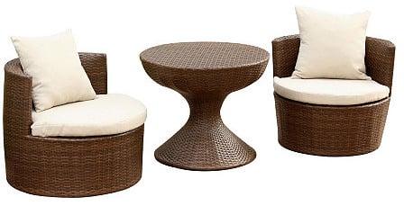 3-Piece Outdoor Chair Set ($530)