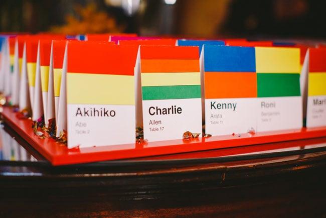 Playful Place Cards