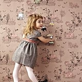 Sian Zeng Magnetic Woodlands Wallpaper Brown Pink ($454)