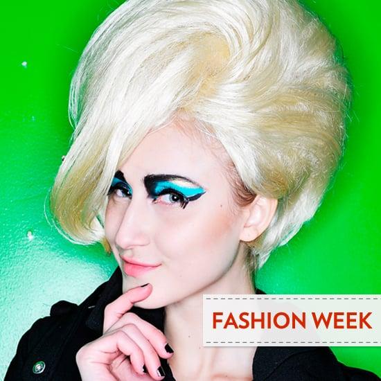 2012 Fall New York Fashion Week Beauty Trend: Crazy Eyeliner