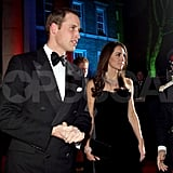 Kate Middleton and Price William arrived at the Sun Military Awards.