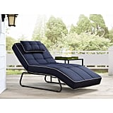 Latitude Run Andrew Reclining Chaise Lounge With Cushion