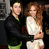 Nick Jonas and Jennifer Lopez