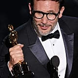 Michel Hazanavicius accepted his best director award for The Artist.