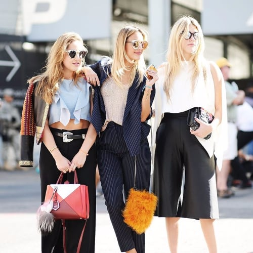 Accessoires Street Style Fashion Week de New York