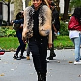 Ciara Was All Dressed Up While Shooting Her Music Video in NYC
