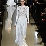 If Gwyneth Paltrow wanted to go with another standout white gown á la last year's Oscars look, she should stick with this Elie Saab version come Oscars this year.