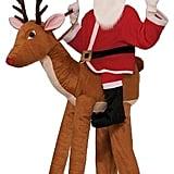 Kids' Santa Riding a Reindeer Costume