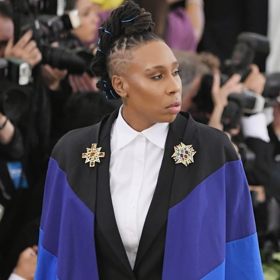 Lena Waithe's Rainbow Cape at the Met Gala 2018 Pictures