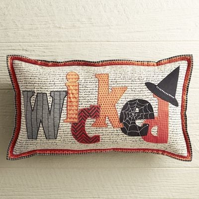 Pier 1 Imports Wicked Lumbar Pillow ($35)