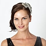 No.1 by Jenny Packham Silver Embellished Flower Headband