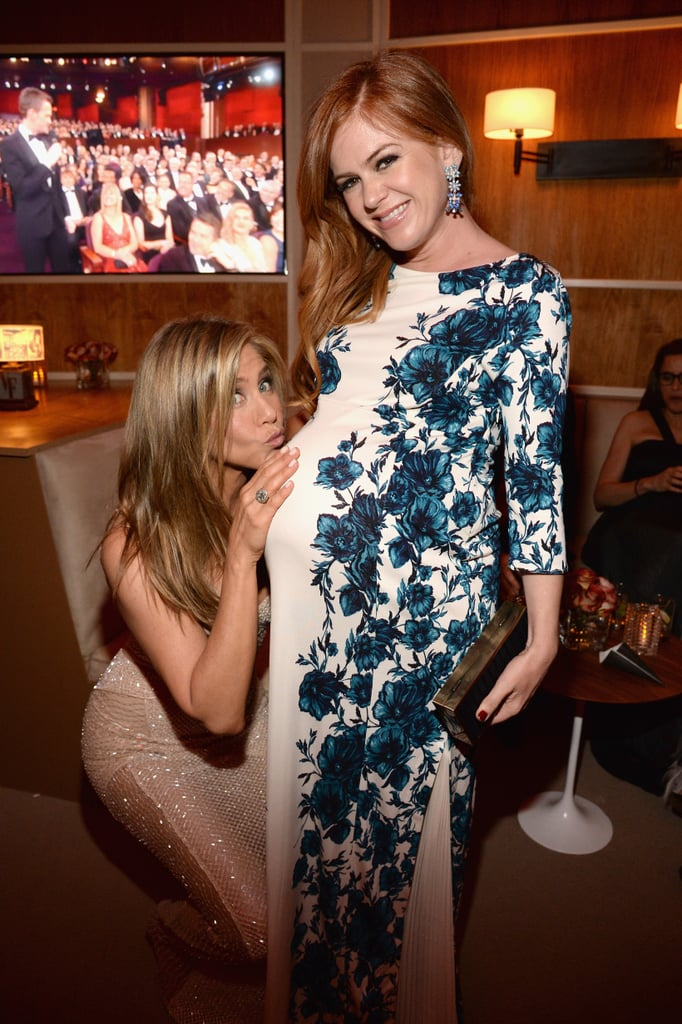 Jennifer Lawrence Holding Baby Jennifer Aniston With ...