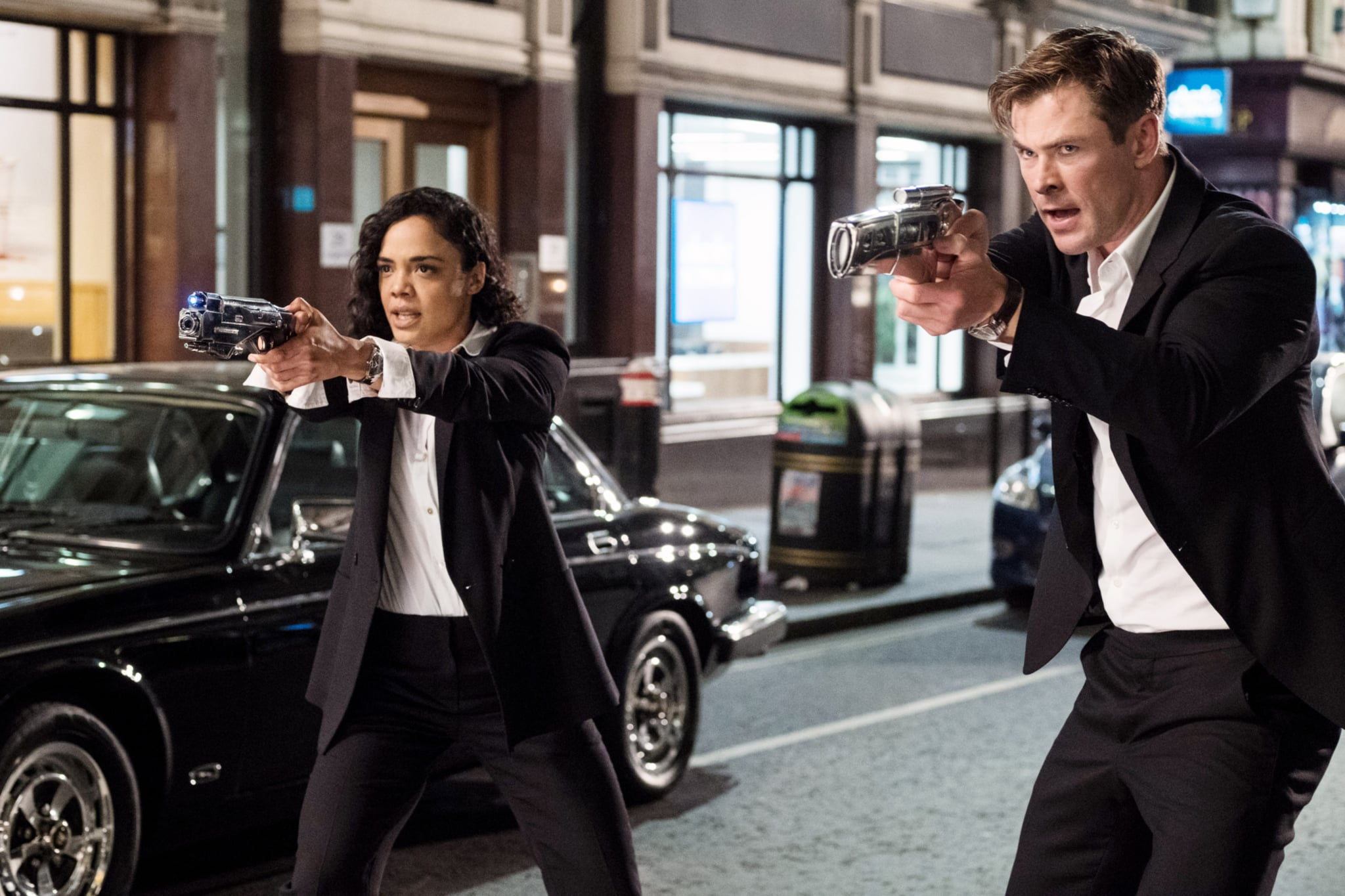 Agent H and Agent M From Men in Black International