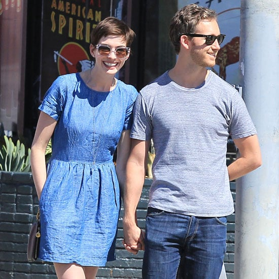 Anne Hathaway Wearing Cowboy Boots