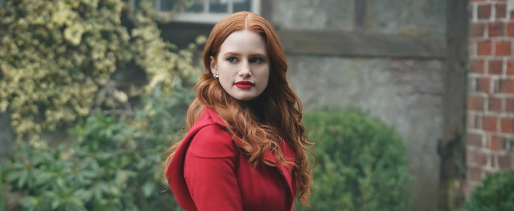 Madelaine Petsch's Red Nail Polish On Riverdale