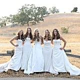 Sister Wedding Dress Photo Shoot