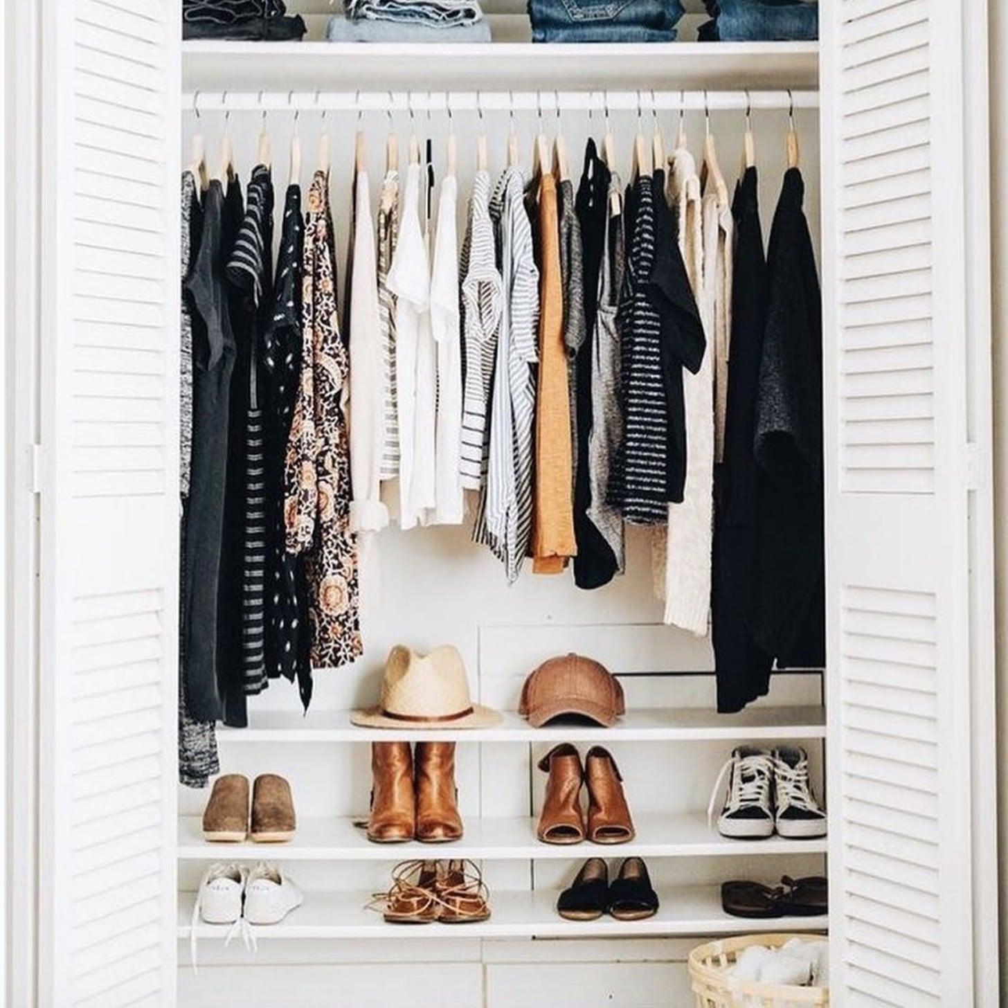 Marie Kondo Closet Organization Popsugar Australia Smart Living