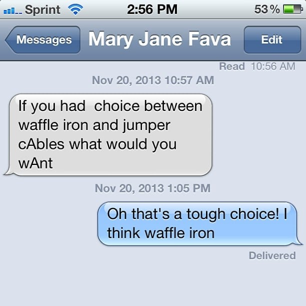 Tough Choice