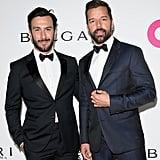 Ricky Martin and Jwan Yosef