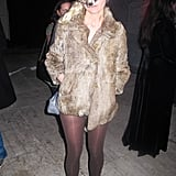 Kristen Dunst channeled an animal at a 2011 Halloween party in LA.