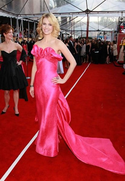 January Jones at the 2008 SAG Awards