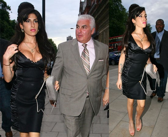 Pictures of Amy Winehouse and Mitch Winehouse Seeing Tony Bennett