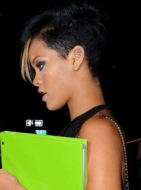 Fake Rihanna's Funky Fringe —It's Super Easy!