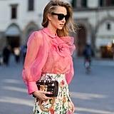 Blogger Alexandra Lapp in Italy.