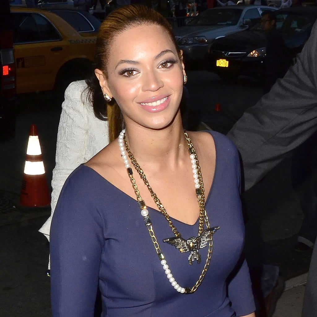 Beyoncé Knowles in NYC.