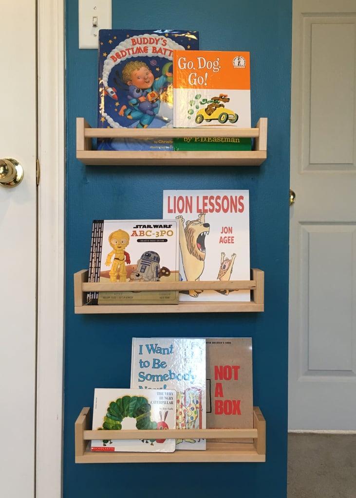 Ikea Spice Rack Bookshelf Hack | POPSUGAR Family