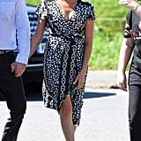 Meghan Markle's Wrap Dress South Africa September 2019