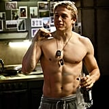 When He Went Shirtless in Pacific Rim