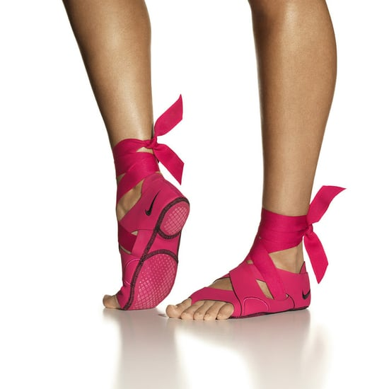 cc637d39589 The Studio Wrap Pack consists of three parts  the wrap portion that fits  around the foot and ribbons (both pictured above) and a pair of slip-on  flats that ...