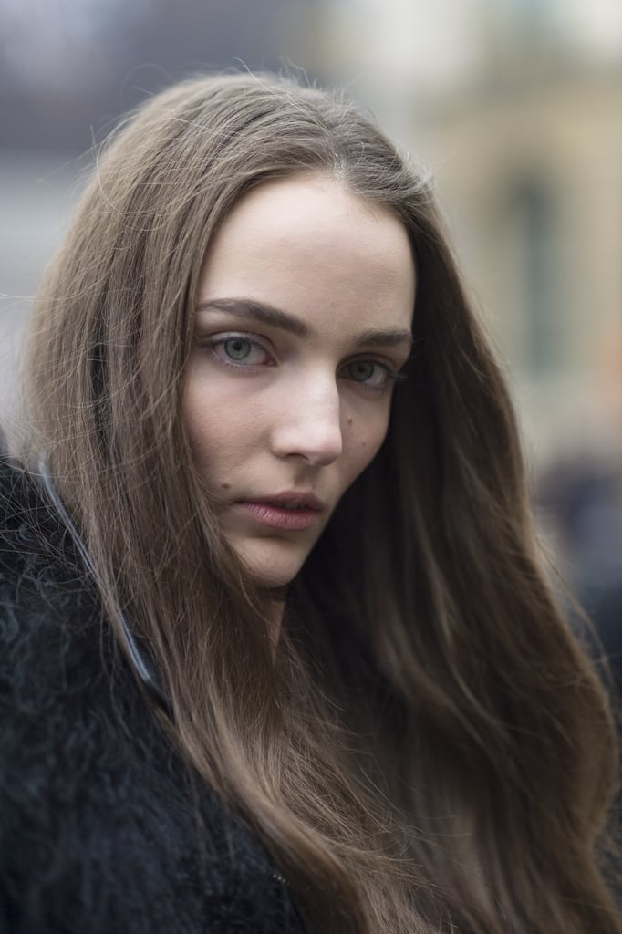 Zuzanna Bijoch's brushed-out waves looked gorgeously casual. Source: Le 21ème | Adam Katz Sinding