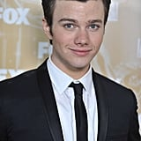 Chris Colfer at the 2011 Fox Emmys bash.