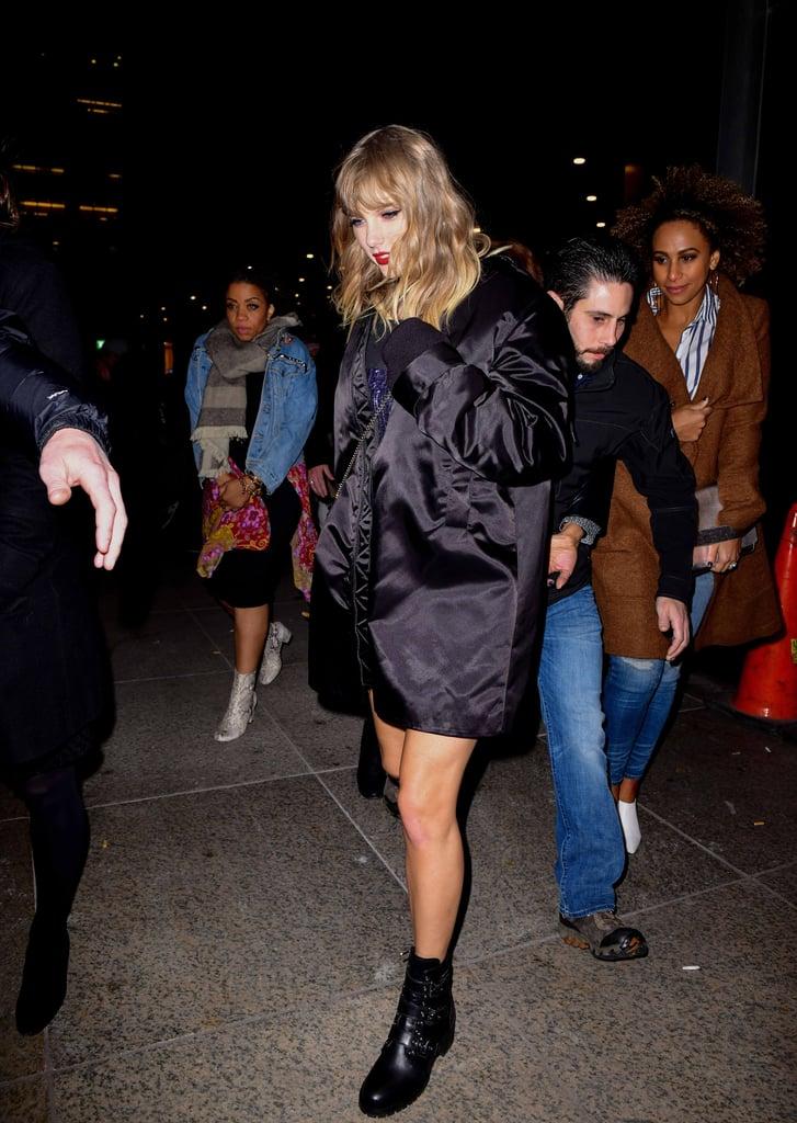 Taylor Swift Prada Combat Boots Popsugar Fashion