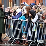Prince William and Kate Middleton Visit Blackpool March 2019