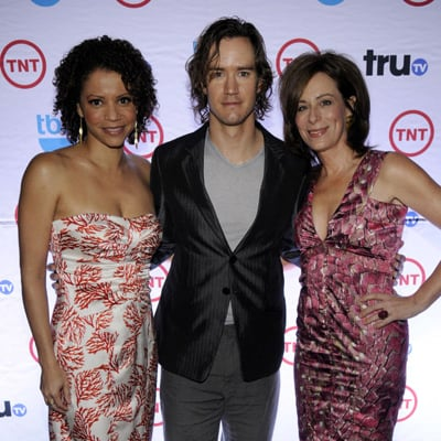 Jane Kaczmarek, Gloria Reuben and Mark Paul Gosselar at TNT Upfronts