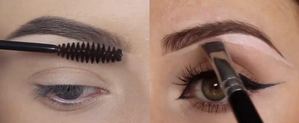So verwandelt man hauchdünne Augenbrauen in eine volle Mähne