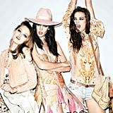 Girls just wanna have fun in the Just Cavalli Spring campaign. Source: Fashion Gone Rogue