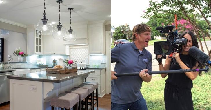 best fixer upper kitchen makeovers popsugar home. Black Bedroom Furniture Sets. Home Design Ideas