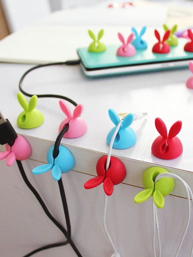 Random Color Rabbit Ear Data Line Holder