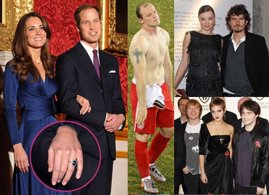Biggest Headlines of 2010 Including Kate Moss, Prince William, Katie Price, Isla Fisher, Harry Potter, and the World Cup