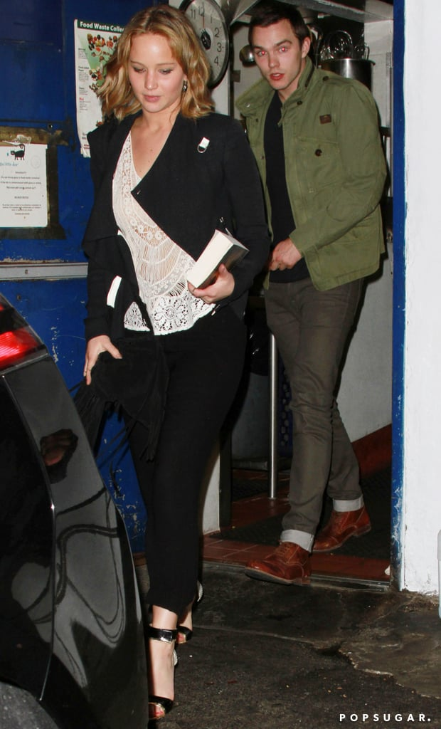 Jennifer Lawrence and Nicholas Hoult had dinner together.