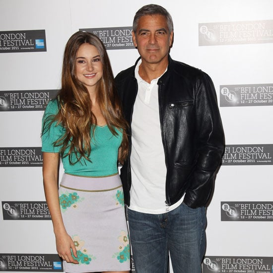 George Clooney, Shailene Woodley Pictures For Descendants London