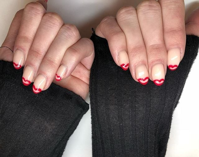 Valentine S Day Nail Designs Popsugar Beauty