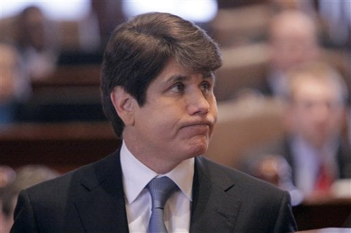 IL Senate Votes 59-0 To Remove Blagojevich From Office