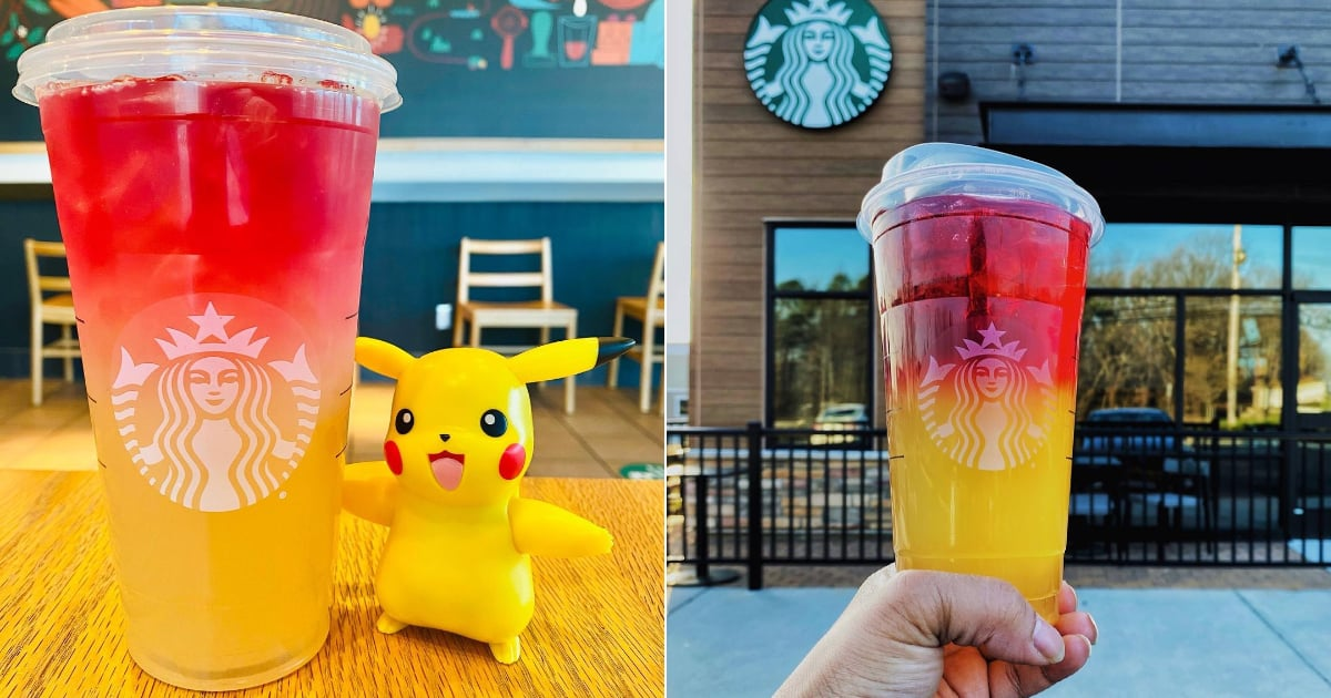 This Secret Menu Drink From Starbucks Is Inspired by Everyone's Favorite Pokémon Character