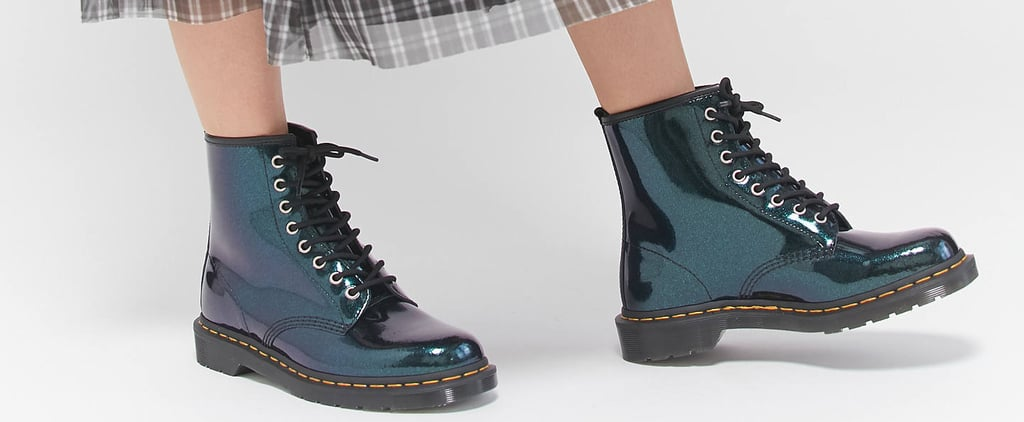Sparkly Dr. Martens Boots