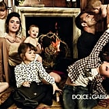 We've never seen a better-dressed set of kids for Dolce & Gabbana's children's line.